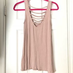 Cute ladder front tank top!